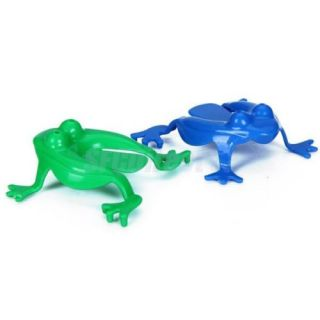 Cute Plastic Jumping Frog Play Toy Kids Fun Party Game