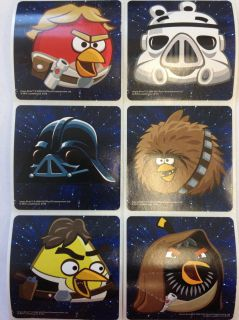 30 Angry Birds Star Wars Stickers Party Favors Teacher Supply 2