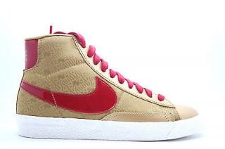 631633 706 Womens Nike Blazer Mid Yoth Year of The Horse Metallic Gold Red QS