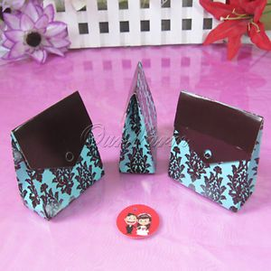 100 Wedding Party Candy Truffle Gift Favor Boxes Supply
