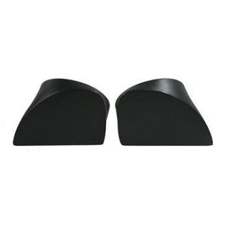 "Yamaha Rhino 6 5"" Round Rear Speaker Mounts Mounting Pods Enclosures Pair Black"