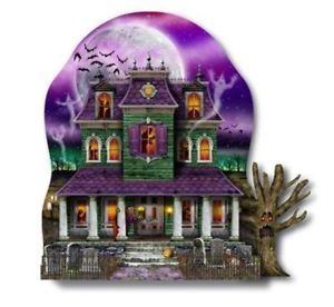 Haunted Halloween House Party Decoration Centerpiece 12 x 10 Table