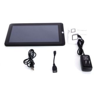 "New 10 1"" A10 Android 4 0 8GB Tablet HDMI Camera USB 2 0 Keyboard Case Bundle"