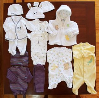 Baby Newborn Infant Boy Girl Spring Easter Clothes Lot 0 3 Months