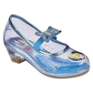 Disney Princess Cinderella Toddler Girl's Dress Shoe Size 10