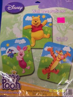 Winnie The Pooh Cartoon Bear Kids Birthday Party Cutout Wall Decorations
