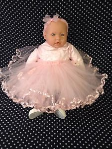 20 inches Berenguer Baby Doll Ballerina Baby Female Girl Full Size Real Clothes