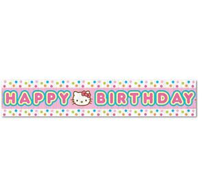Hello Kitty Crepe Paper Streamer Birthday Party Supplies Decorations
