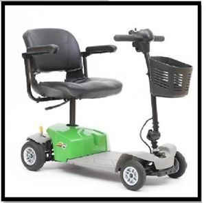 New Mega Motion mm 84 Elite 8 Green Electric 4 Wheel Power Chair Scooter