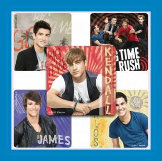 15 Big Time Rush Stickers Party Favors