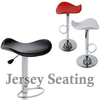 New PU Leather Air Lift Swivel Counter Adjustable Bar Stool Counter Chair