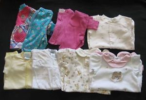 9 Piece Baby Girl Clothes Size 0 3 Months M Gymboree TCP