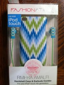 Fashionation iPod Touch Case and Earbuds Brand New Macbeth Collection