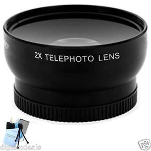 Professional Telephoto Lens with Adapter for Panasonic Lumix DMC FZ200 Camera