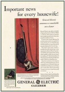 General Electric Vacuum Cleaner