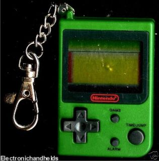 Nintendo Super Mario Bros Game Watch Mini LCD Keychain Electronic Mini Classic