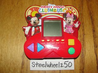 Walt Disney Mickey Mouse Clubhouse Electronic Handheld Travel Game LCD 2008 RARE