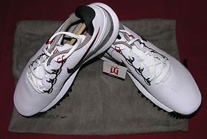 Nike Golf Tiger Woods TW 2014 Golf Shoes White 11 M