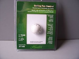 Hunter 3 Speed Ceiling Fan Control Switch Model 27180 New