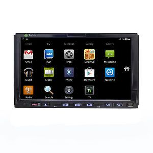 "Double DIN 7""Car Stereo DVD Player Pure Android GPS 3G WiFi BT iPod FM USB Unit"