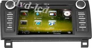 2007 2011 Toyota Tundra Navigation Car DVD GPS Player Radio TV Head Units iPod