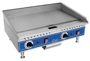 Globe Countertop Electric Griddles PG24E Commercial Flat Grill Top Kitchen