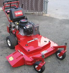 "Toro 30193 36"" Commercial Walk Behind Mower Fixed Deck w 12 5HP Kawasaki Engine"