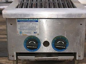 "Rankin Delux 15"" Heavy Duty Gas Griddle Grill DRB 15"