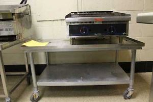 Star Max Model 6024CBD Natural Gas Grill w Griddle Cover Cart