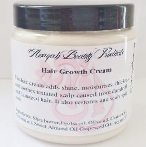 Anaqah Hair Growth Treatment Grow Longer Hair Shea Butter Argan Oil Anaqah