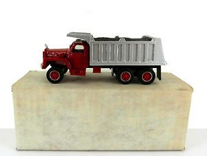Dehanes 1 50 Scale Hand Built Resin Mack B81 Dump Truck Mint