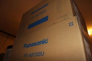 New Panasonic PT AR100U PT AR100 1080p LCD Home Theater Projector PT AH1000 HDMI 885170049871