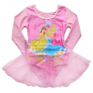 New Girl Kids Princess Ballet Dance Dress Tutu Skirt Leotard Party Costume Sz 3T