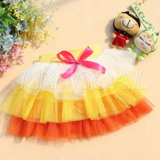 2013 Spring New Baby Girls Fancy Princess Party Tutu 6 Layered Dress Skirts 3 6Y