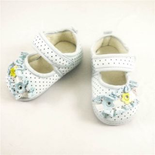 Baby Toddler Shoes Slippers Boys Girls 6 12 12 15 15 18 Months Velcro E