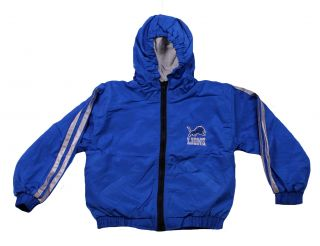 Detroit Lions NFL Football Toddler Youth Light Hooded Reversible Jacket