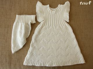 Bamboo Cotton Knitted Summer Dress Christening Holiday Sarafan Baby Girl Newborn