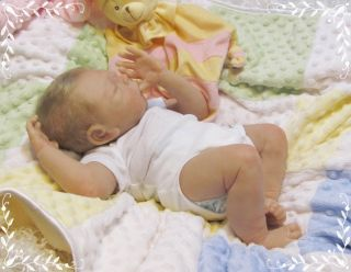 Solid Silicone Sierra by Helen Connors Sweet Newborn Baby Girl