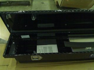 UWS TBS 69 SL LP Blk Black Single Lid Slim Line Aluminum Low Profile Toolbox