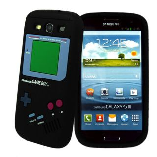 Nintendo Gameboy Game Boy Silicone Case Cover Skin for Samsung Galaxy S3 I9300