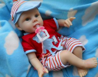 Reborn Baby Boy Dolls Realistic Newborn Babies Lifelike Preemie Infants Dolls