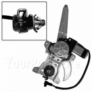 98 02 Corolla Power Window Lift Regulator w Motor Passenger Side Rear Right