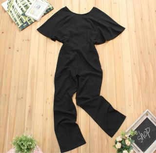 Sexy Women Cross Halter Long Cocktail Evening Trousers Playsuit Rompers Jumpsuit