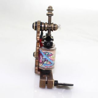 12 Wrap Coils Custom Handmade Tattoo Machine Shader Eikon Brass Gun Supply