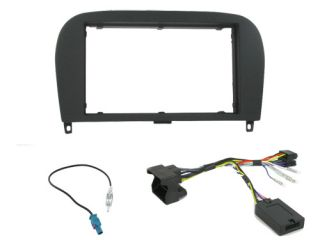 Mercedes SL R230 Car Stereo Double DIN Radio Replacement Fitting Kit CTKMB08