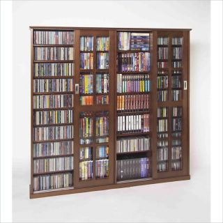 sliding door inlaid glass mission multimedia cabinet by leslie dame
