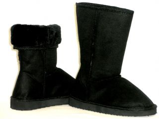 Sooo Comfy Warm Fur Lined Suede Kids Boots