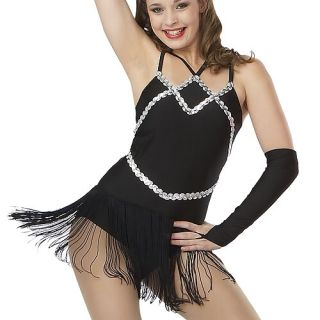 Ice Figure Skating Dance Baton Twirling Costume