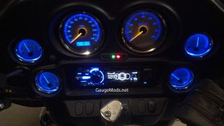 Harley Davidson LED Gauge Mods 2004 to 2013 Bikes Speedo and Tach LED Mods