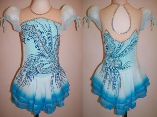 Made to Measure Ice Figure Skating Skate Dress Dance Costume Twirling Outfit